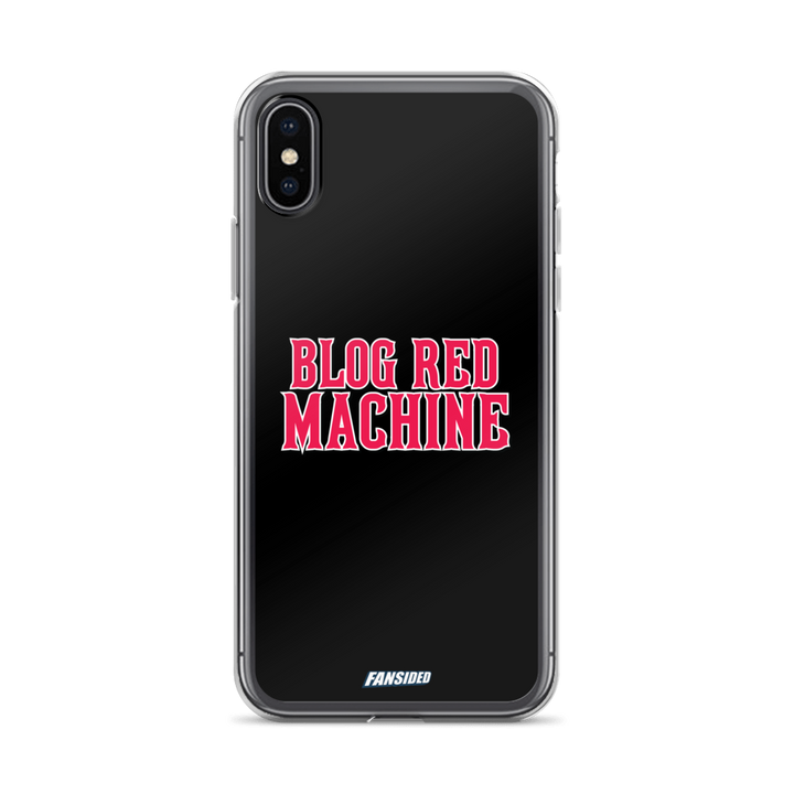 Blog Red Machine iPhone Case