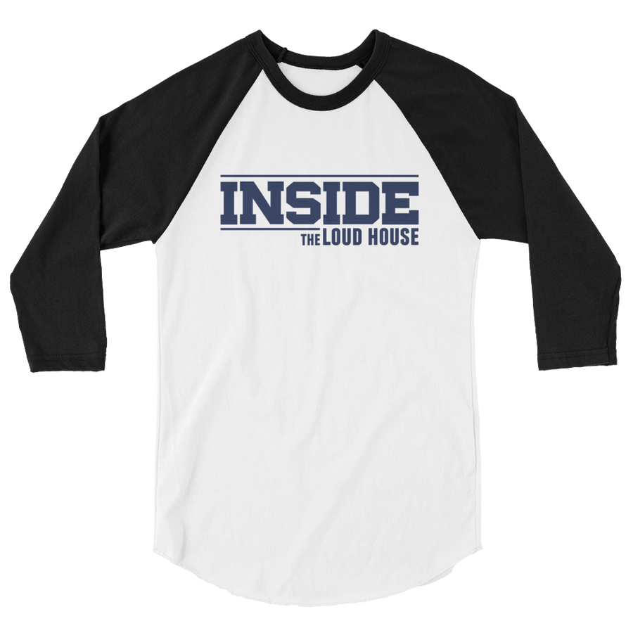 Inside the Loud House 3/4 sleeve raglan shirt