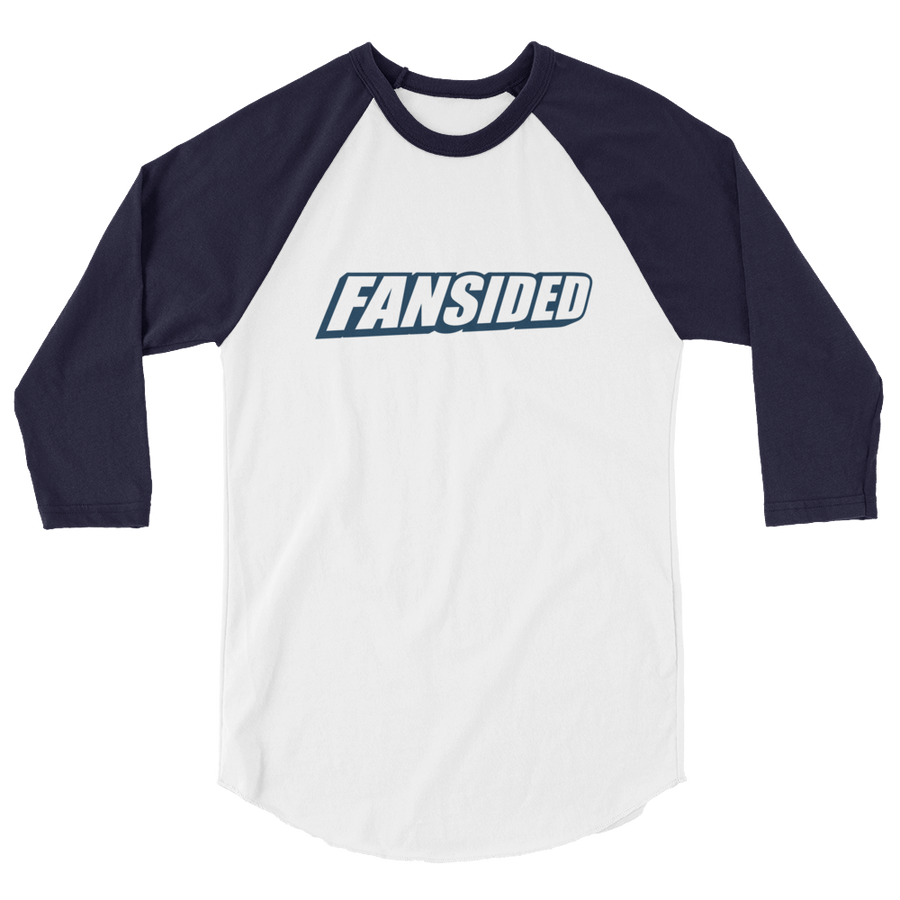 FanSided Brand 3/4 sleeve raglan shirt