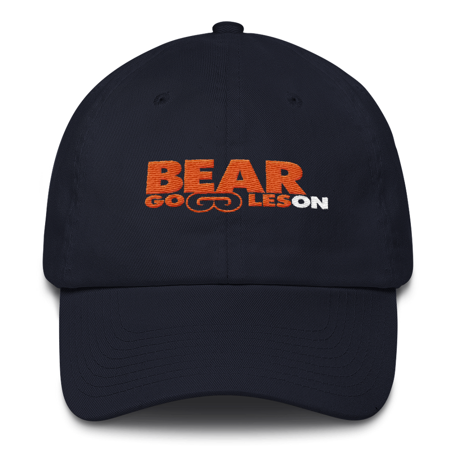 Bear Goggles On Cotton Cap