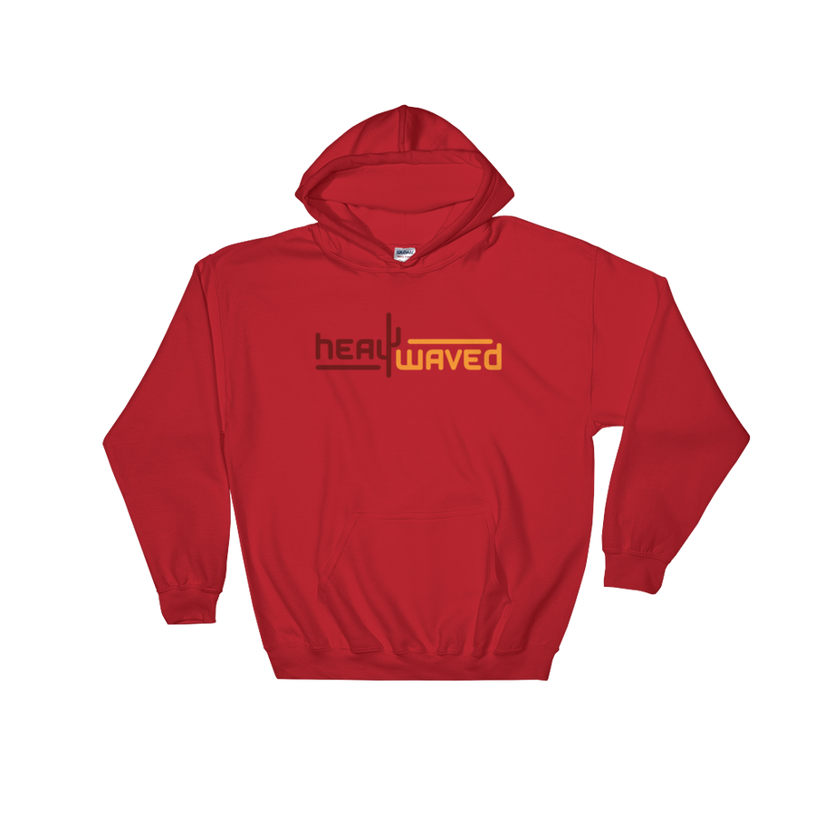Heat Waved Hooded Sweatshirt
