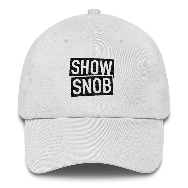 Show Snob Cotton Cap
