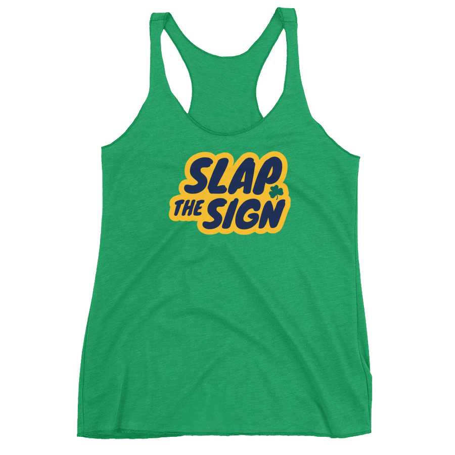 Slap The Sign Women's Racerback Tank