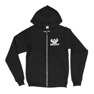 Premium FanSided Yeti Zip-Up Hoodie sweater