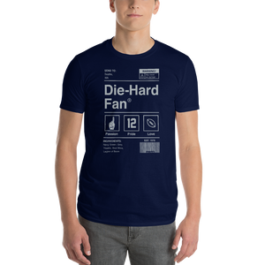 Seattle Football Die-Hard Fan Short-Sleeve T-Shirt