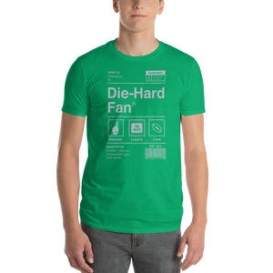 Philadelphia Football Die-Hard Fan Short-Sleeve T-Shirt