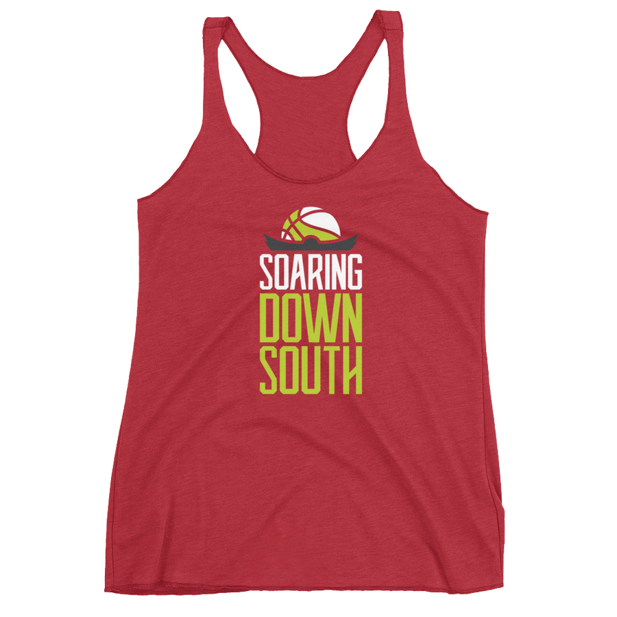 Women's Soaring Down South Racerback Tank