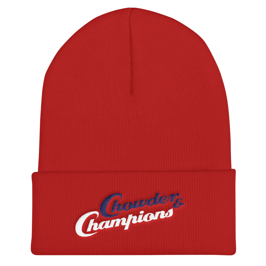 Chowder and Champions Cuffed Beanie