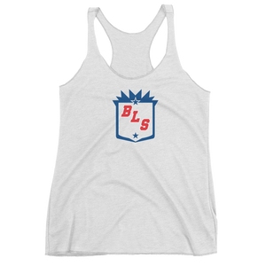 Women's Blue Line Station Racerback Tank
