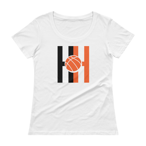 Women's Hoops Habit Scoopneck T-Shirt