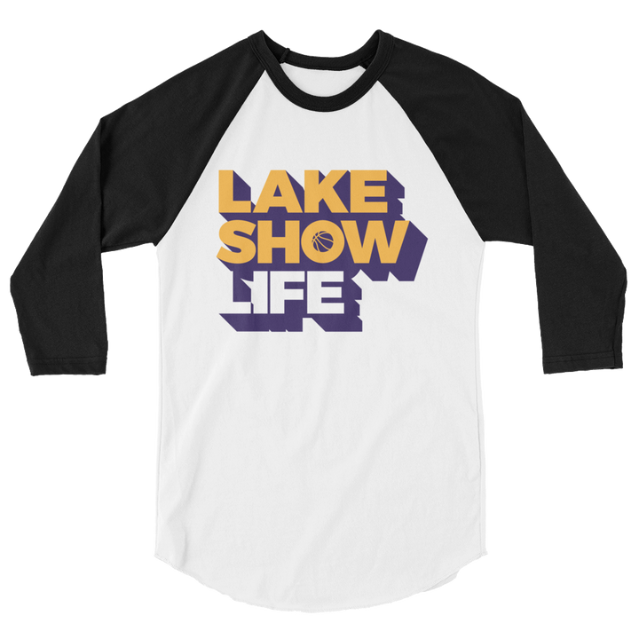 Lake Show Life 3/4 sleeve raglan shirt