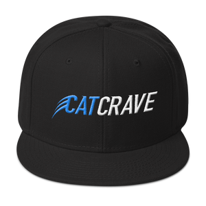 Cat Crave Snapback Hat