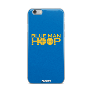 Blue Man Hoop iPhone Case