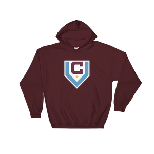 Claret Villa Hooded Sweatshirt