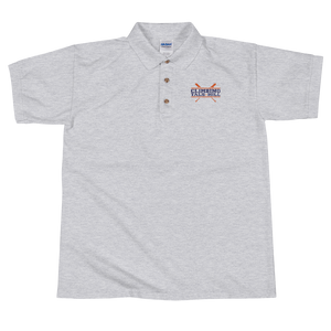 Climbing Tal's Hill Embroidered Polo Shirt
