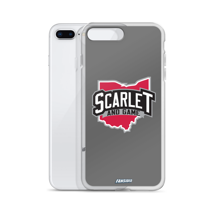 Scarlet and Game iPhone Case