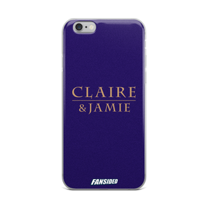 Claire & Jamie iPhone Case