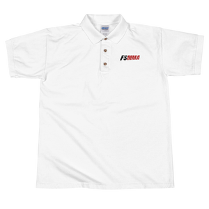 FanSided MMA Embroidered Polo Shirt
