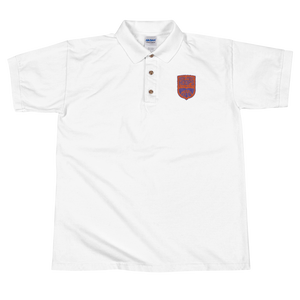 High Post Hoops Embroidered Polo Shirt