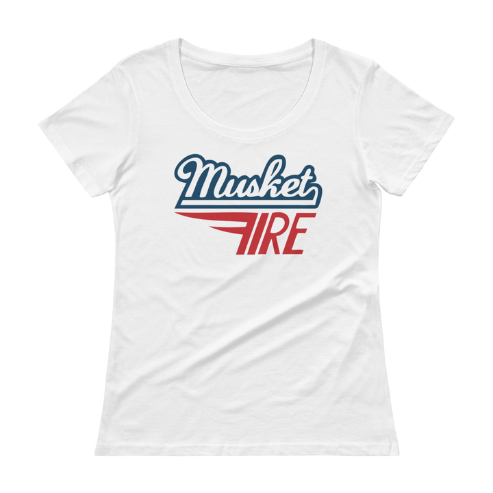 Women's Musket Fire Scoopneck T-Shirt