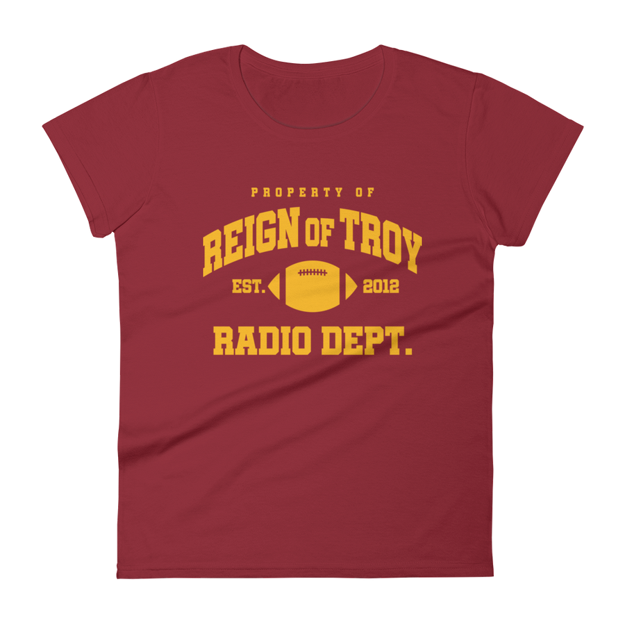 Reign of Troy Radio Dept. Women's Shirt