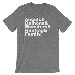 Angels and Demons Short-Sleeve T-Shirt