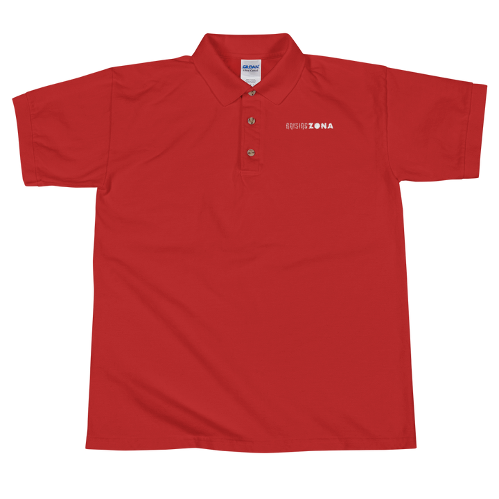 Raising Zona Embroidered Polo Shirt