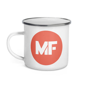 Mental Floss Enamel Mug