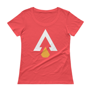 Women's Arrowhead Addict Scoopneck T-Shirt