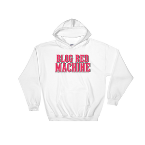 Blog Red Machine Hooded Sweatshirt