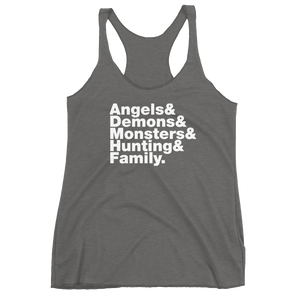 Angels & Demons Women's Racerback Tank