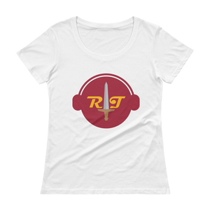 Reign of Troy Radio Ladies' Scoopneck T-Shirt
