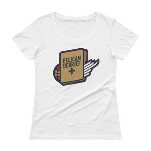 Women's New Orleans Basketball Scoopneck T-Shirt