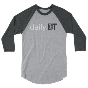 Daily DDT 3/4 sleeve raglan shirt