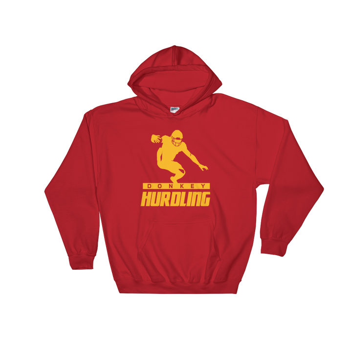 Donkey Hurdling Hooded Sweatshirt