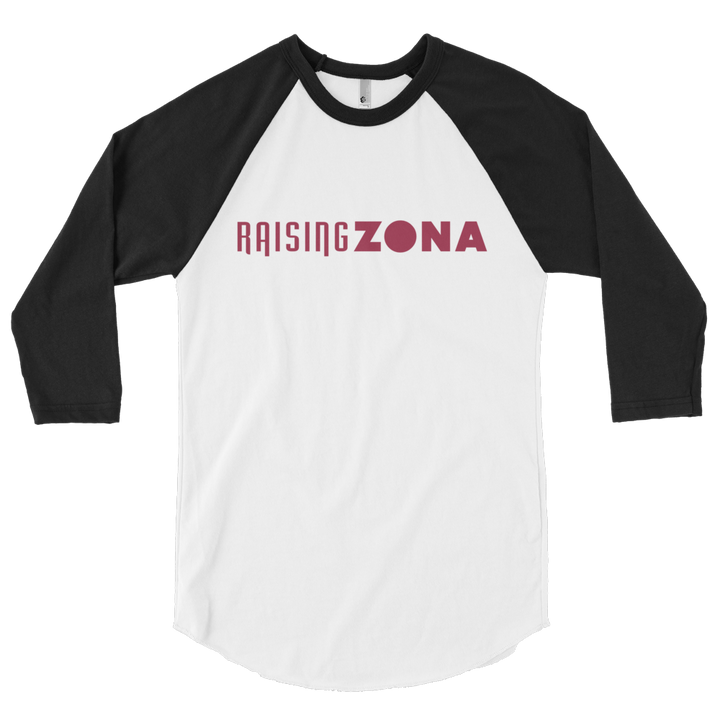 Raising Zona 3/4 sleeve raglan shirt