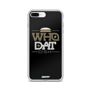Who Dat Dish iPhone Case