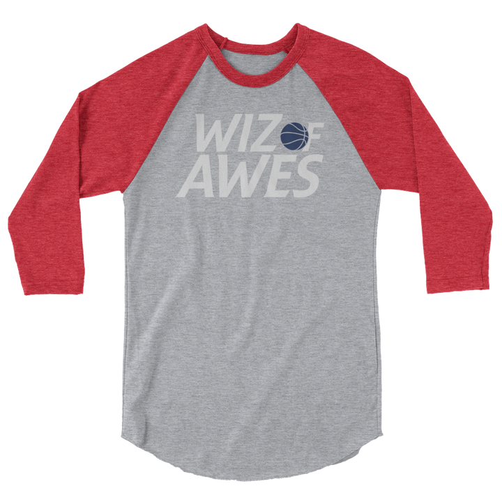 Wiz of Awes 3/4 sleeve raglan Shirt