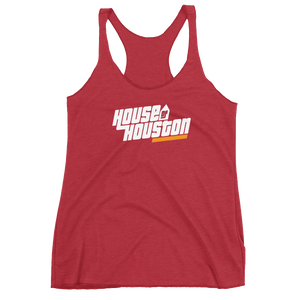 House of Houston Women's Racerback Tank