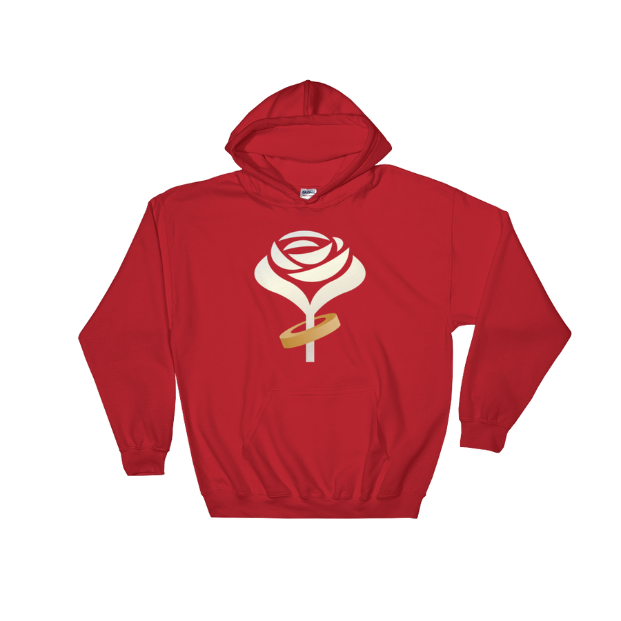 Accept This Rose Hooded Sweatshirt