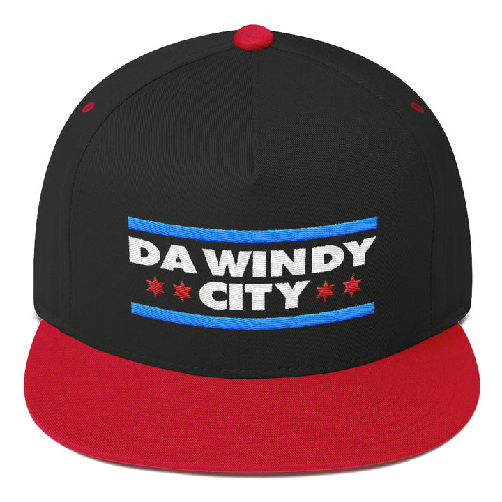 Da Windy City Flat Bill Cap
