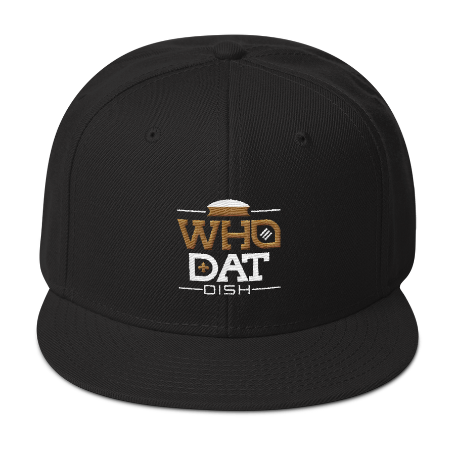 Who Dat Dish Snapback Hat