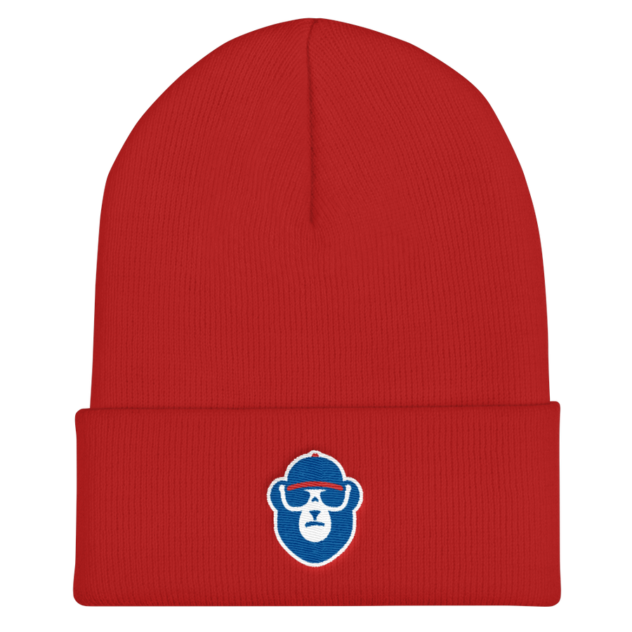 Chicago Baseball Cuffed Beanie