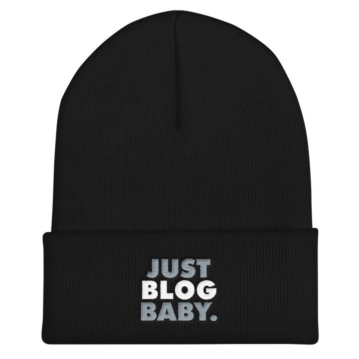 Just Blog Baby Cuffed Beanie