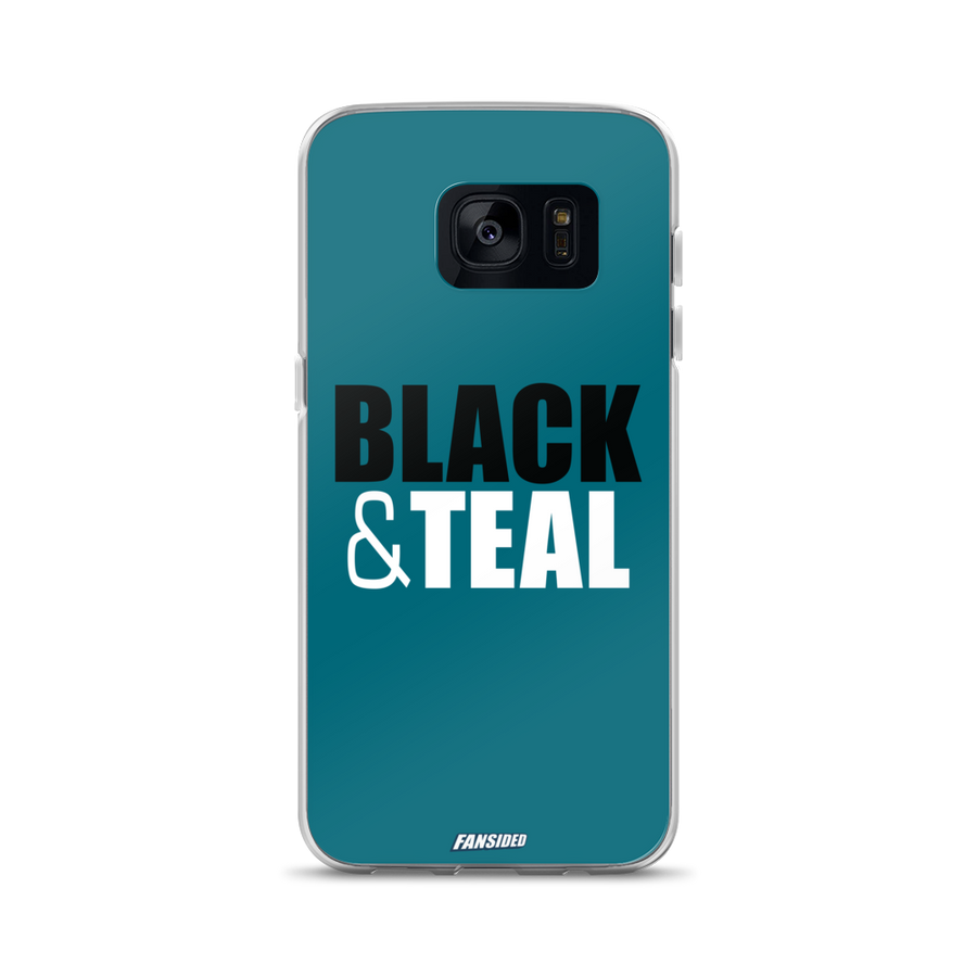 Black and Teal Samsung Case