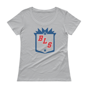 Women's Blue Line Station Scoopneck T-Shirt
