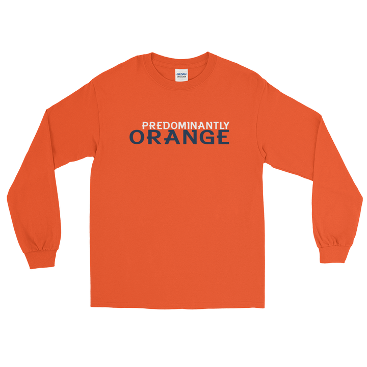 Predominantly Orange Long Sleeve T-Shirt