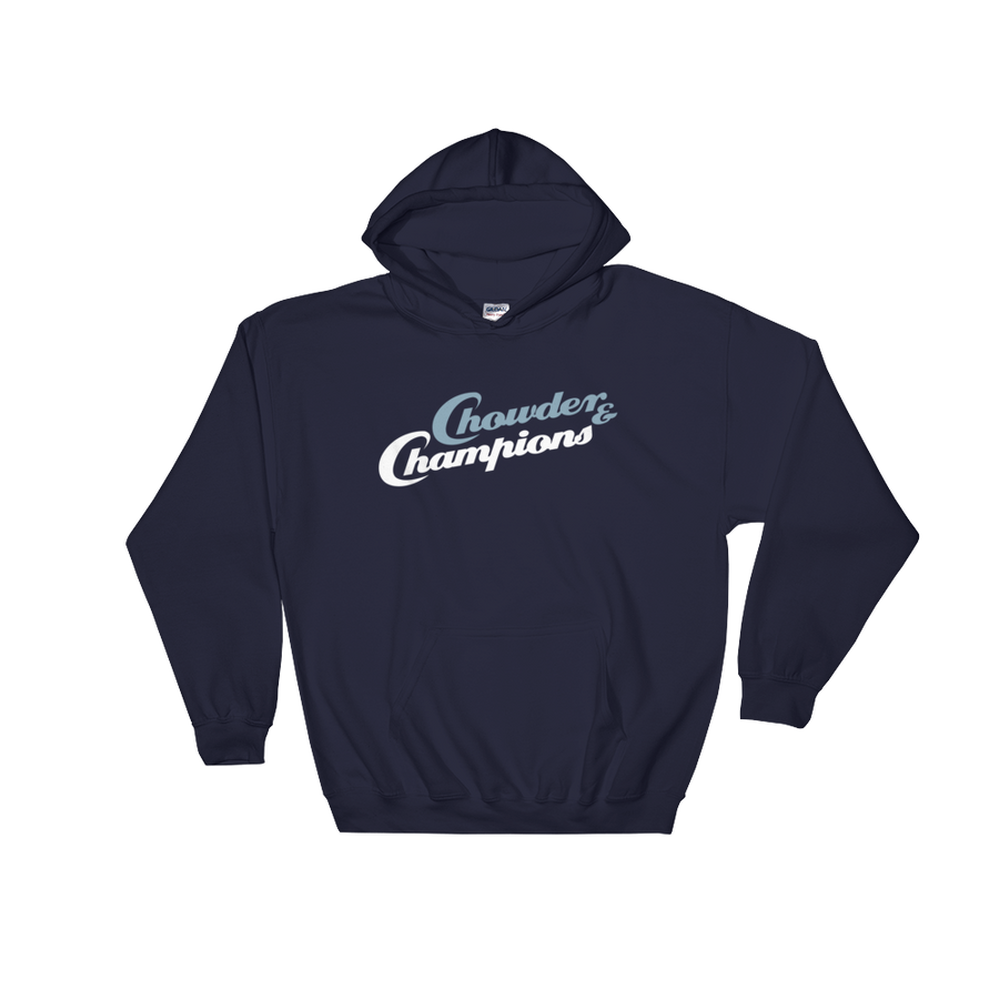Chowder and Champions Hooded Sweatshirt