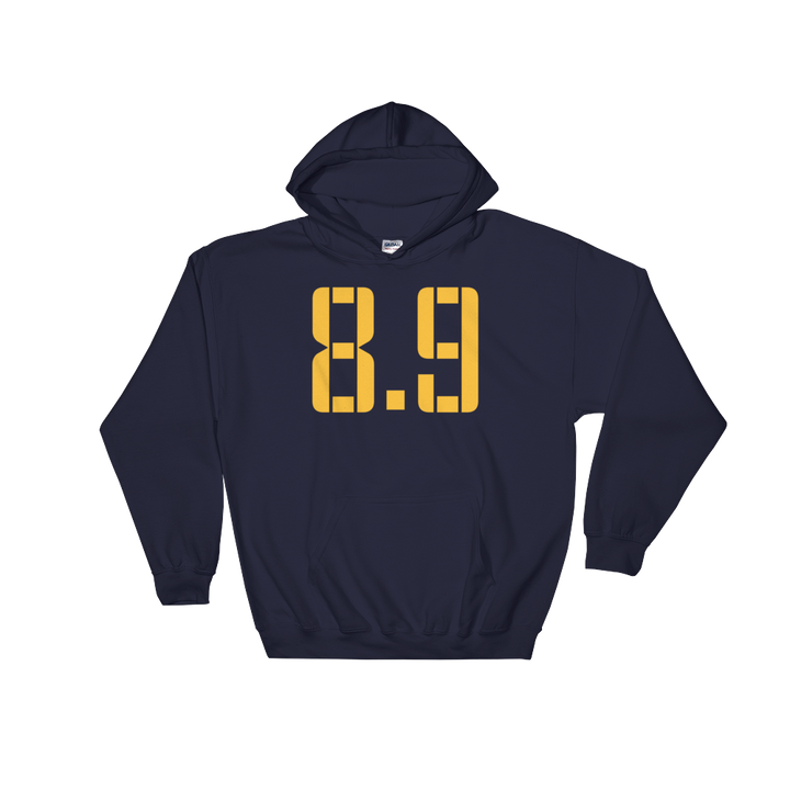 8 Points, 9 Seconds Hooded Sweatshirt