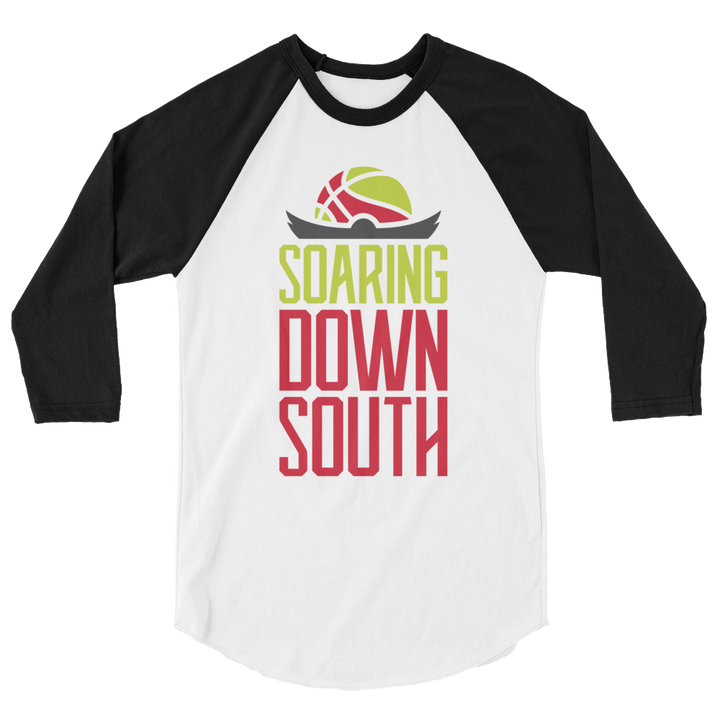 Soaring Down South 3/4 sleeve raglan shirt
